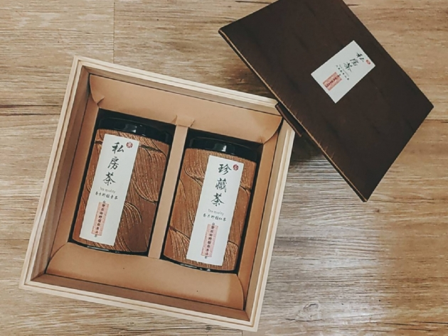 禮盒組。台灣原生喬木山茶 1