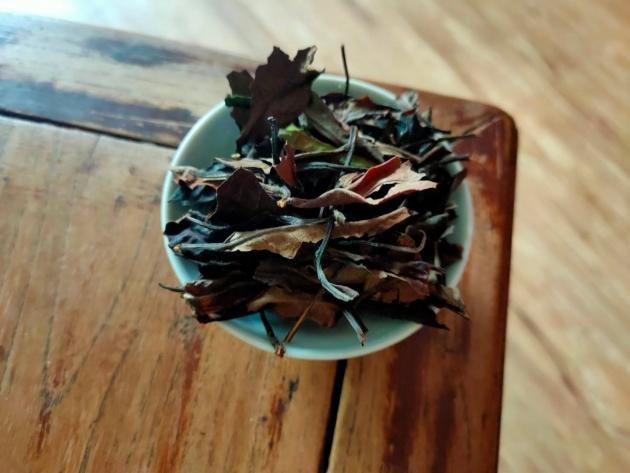 喬木野韻山白茶(陳期3年)完售 1